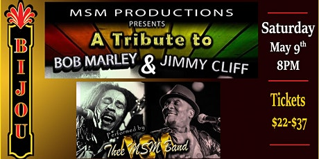 A Tribute to Bob Marley & Jimmy Cliff tickets