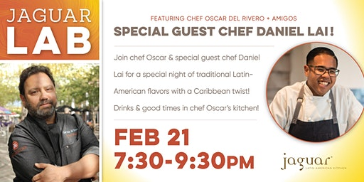 Jaguar LAB with Chef Oscar Del Rivero and Chef Daniel Lai is back for more!