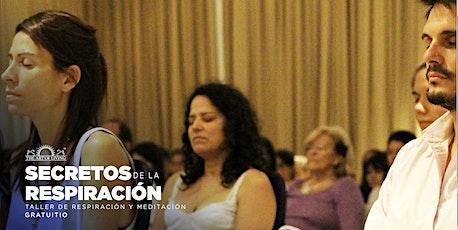 Taller gratuito de Respiración y Meditación - Introducción al Happiness Program en Cipolletti tickets