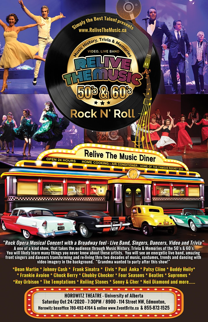 Relive the Music 50s & 60s Rock n Roll SHOW image