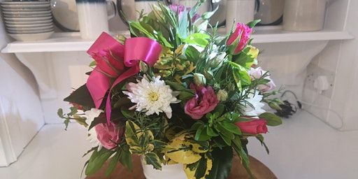 Mother's Day floristry Workshop  |  20th March 2020  |  7 - 9.30 pm