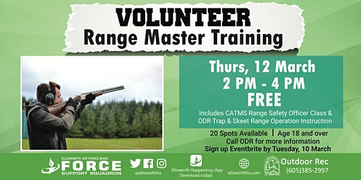 Ellsworth AFB Volunteer Range Master Training (Trap & Skeet)