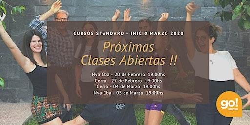 Clase Abierta Go! Idiomas Cerro - 27 de Febrero 2020 19:00hs