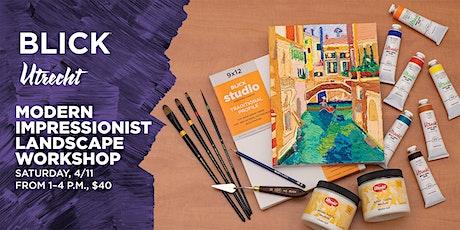 Modern Impressionist Landscape Workshop at Blick Santa Monica tickets