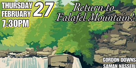 STREET JUSTICE: Return to Falafel Mountain tickets