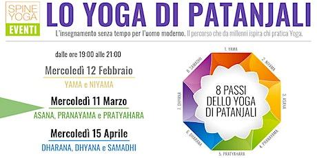Lo Yoga di Patanjali - ASANA, PRANAYAMA e PRATYAHARA biglietti