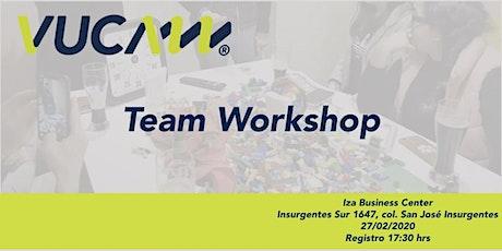 Team Workshop tickets