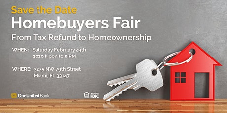Homebuyers Fair: From Tax Refund to Homeownership tickets