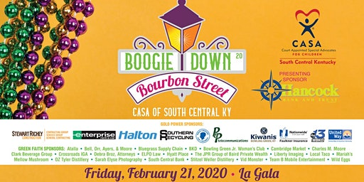 3rd Annual CASA of SCK's Boogie Down Bourbon Street presented by Hancock Bank & Trust