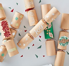 Making Eco Christmas Crackers tickets