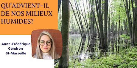 Conférence: Qu'advient-il de nos milieux humides? billets