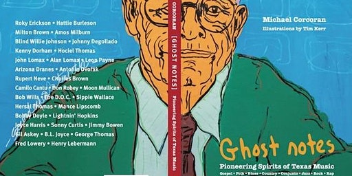 """To Hear: Michael Corcoran book release """"Ghost Notes"""""""