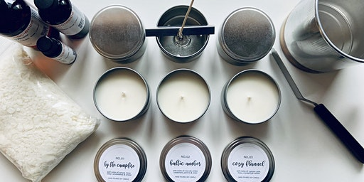 Hand Poured Candle Making Class
