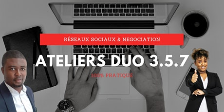 Ateliers Duo 3.5.7 - Module 3H tickets