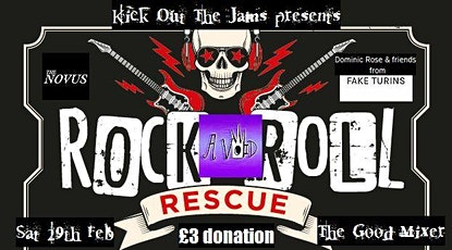 The Camden Crush Vol #4 for Rock'n'Roll Rescue tickets