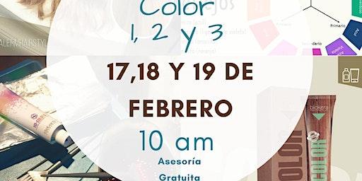 Color 1,2 y 3