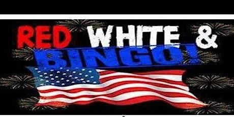 Red, White & BINGO tickets