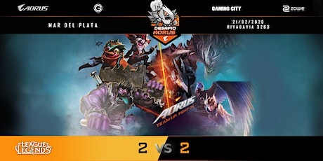 Desafío Aorus 2vs2 MDQ League of Legends entradas