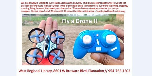 Fly a Drone !!