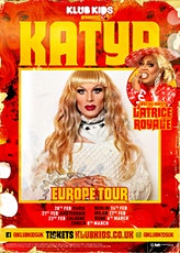 KLUB KIDS Berlin presents KATYA ZAMOLODCHIKOVA (Ages 18+) tickets