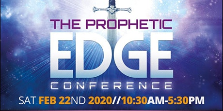 The Prophetic Edge Conference tickets