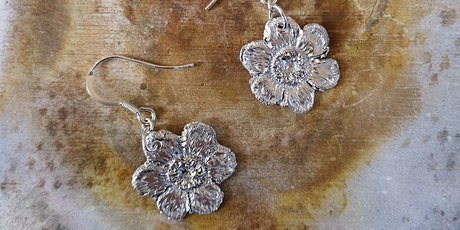 Silver Clay Jewellery Workshop (make a pair of earrings and a pendant) tickets