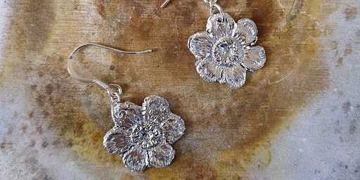 Silver Clay Jewellery Workshop (make a pair of earrings and a pendant)