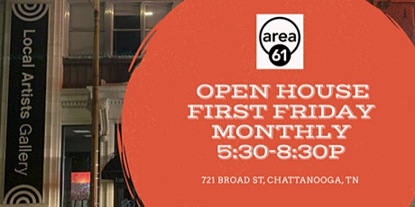 First Friday at Area 61 Gallery tickets
