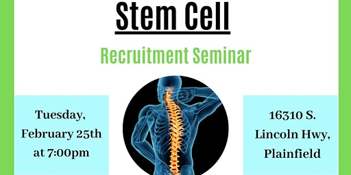 Free Stem Cell Recruitment Seminar
