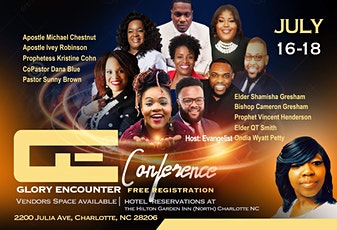 Glory Encounter Conference 2020 tickets