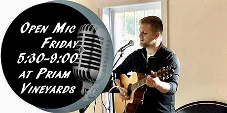 Open Mic at Priam Vineyards tickets
