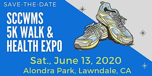 16th Annual SCC WMS 5K Walk & Health Expo.