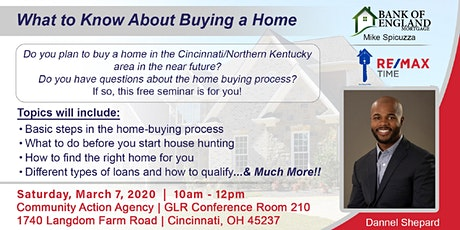 First-Time Home Buyer Seminar for Greater Cincinnati & Northern Kentucky tickets