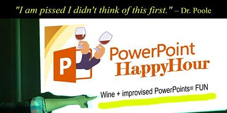 PowerPoint Happy Hour tickets