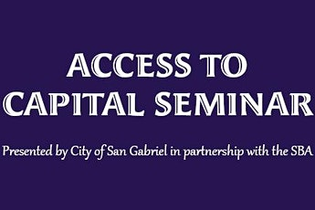 Access to Capital Seminar tickets