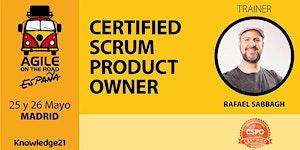 Certified Scrum Product Owner - CSPO + Gestión Ágil de...