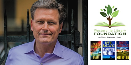 POSTPONED - Private Reception with David Baldacci (May 13, 2020)  tickets