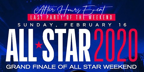 ALL STAR WEEKEND GRAND FINALE tickets