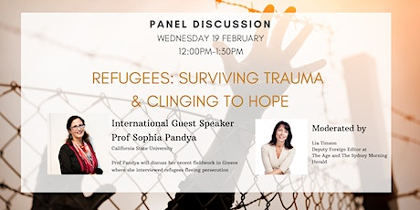 Refugees: Surviving trauma & clinging to hope tickets