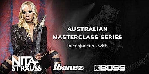 Nita Strauss  Sydney Guitar Masterclass