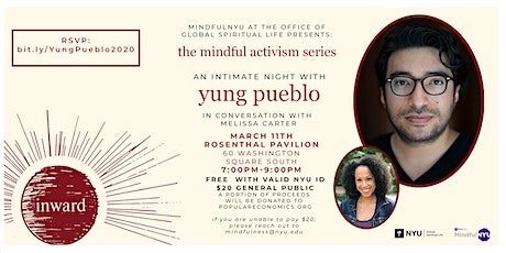 An Intimate Night with Yung Pueblo tickets