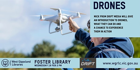 Drones Introductory Session tickets