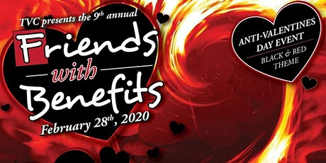 Friends with Benefits [Anti Valentines Day/Red & Black Theme] tickets