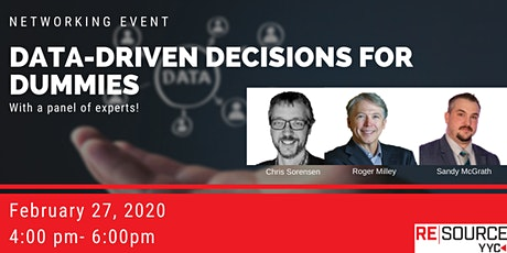 Networking Event: Data-Driven Decisions for Dummies tickets