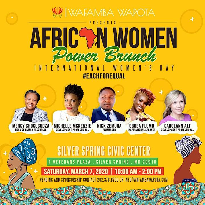 African Women's Power Brunch 2020 image