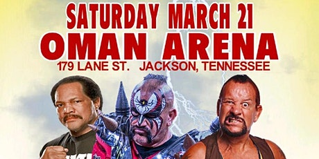 3/21 tickets honored on APRIL 18 USA Championship Wrestling Spring Fever tickets