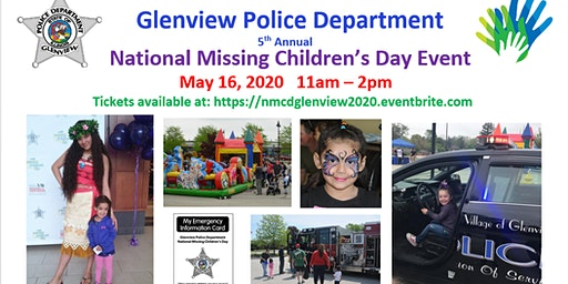 Glenview Police Department 5th Annual National Missing Children's Day Event