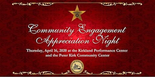 2020 Community Engagement Appreciation Night