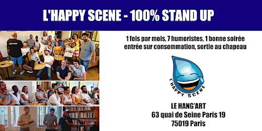 L'Happy Scene - Stand up au Hang'Art 25/02/2020
