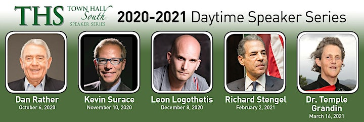 Town Hall South Speaker Series 2020-2021 image